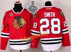 Only $34.88 please email me at maryjerseyelway@gmail.com for Blackhawks 28 Ben Smith Red 2015 Stanley Cup Stitched NHL Jersey