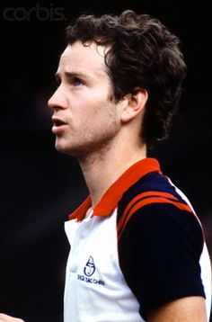 John McEnroe at Wimbledon