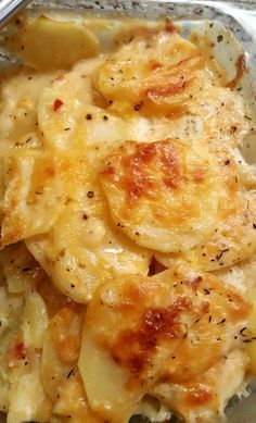 Hey everybody… I hope your day is going well! :) Today, I'm going to share with you a scalloped potato recipe that will knock your socks off! Now, I will tell you, I grew up on boxed, B…