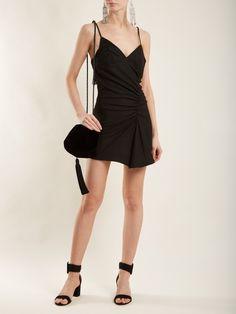 Jacquemus Conga ruched mini dress
