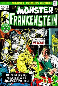 Bronze Age Babies: BAB Frightfest: Monster of Frankenstein 1 __ XXXVI __