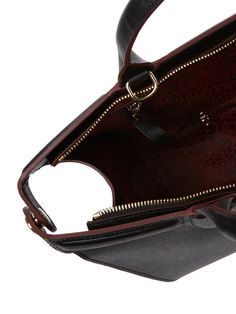 Le Pliage Heritage Medium Leather Satchel from Handbags Feat. Furla, Longchamp & More on Gilt