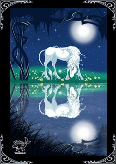 """°Am I The Last? by MichelleWalker-From the movie """"The Last Unicorn""""-I can hear the words of the song: I'm alive! I am alive!"""