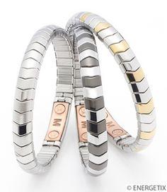 Copper bracelets - magnetic bracelets - flexible bracelets - ENERGETIX Magnetic Therapy Jewellery from SHIP SHOP STYLE