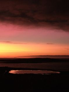 The view from my home.  Scatness, Shetland Isles.