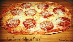 Low Calorie Flatbread Pizza Recipe