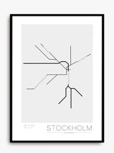 Stockholm Underground via Wallboe Interior. Click on the image to see more!