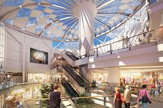 Sandton City Shopping interior