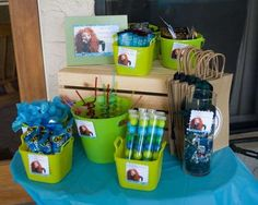 Disney Movie - Brave Party Birthday Party Ideas | Photo 33 of 36 | Catch My Party