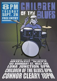 Children Of The Blues plus Luna Junction and Connor Cleary