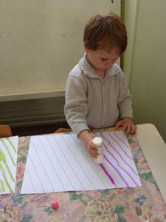 JPG, juin 2012 Plus Preschool Writing, Preschool Learning Activities, Preschool Curriculum, Preschool Kindergarten, Motor Activities, Creative Activities, Tracing Worksheets, Preschool Worksheets, Montessori Education