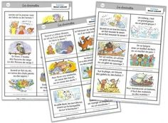 """Lexicon cycle 2 Rituals-riddles """"one word for another"""" Cycle 2 Orphéecole French Teacher, Teaching French, Core French, Cycle 2, Reading Lessons, Home Schooling, Homeschool Curriculum, Learn French, Best Teacher"""
