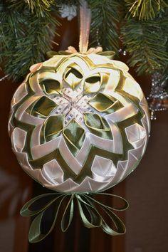 Patchworkove vianočné gule