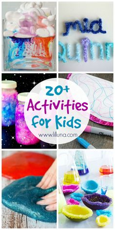 20+ Activities for Kids - a roundup of fun activities for kids of all ages to beat that summer boredom! See it on { lilluna.com }