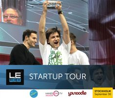 LEWEB'14 STARTUP TOUR - YOUR CHANCE TO PITCH ON STAGE
