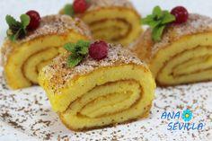 Torta de naranja portuguesa con Thermomix.Ana Sevilla