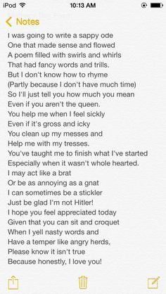 The poem I wrote my mom for Mother's Day