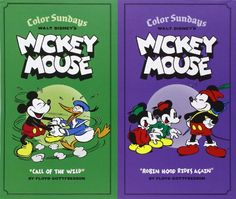 Walt Disney's Mickey Mouse Color Sundays Gift Box Set (Vol. Vols. 1 & 2)  (Walt Disney's Mickey Mouse) by Floyd Gottfredson http://www.amazon.com/dp/1606996878/ref=cm_sw_r_pi_dp_KO8Ytb0BD2RRABSD