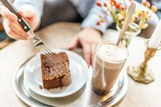 Chocolate Cake @ Café Frühling   Kleinbasel Basel, Cake Cafe, Barista, Chocolate Cake, Banana Bread, Foodies, Restaurant, Coffee, Desserts
