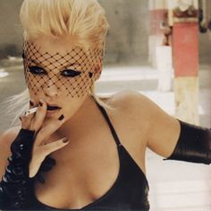 Alecia Beth Moore (born September 8, 1979 in Doylestown, Pennsylvania), better known by her stage name P!nk, is an American singer songwriter who gained prominence in early 2000. She has so far sold over 10 million albums in the United States, and over 32 million worldwide, and has won three Grammy awards.  http://www.pop-fly.com/music/artist-getinfo/p-nk/f4d5cc07-3bc9-4836-9b15-88a08359bc63.cfm