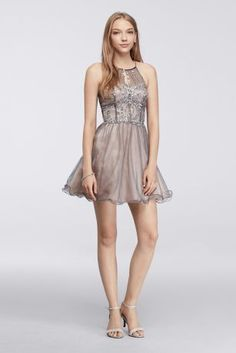 10743494 - Short Dress with Be…