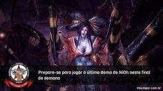 É a última chance de testar o jogo antes do lançamento.  #Nioh