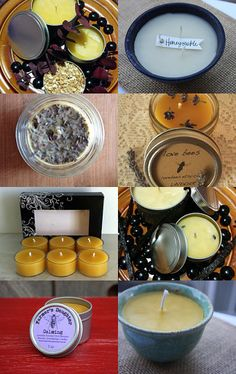 Beeswax candles by badaradio on Etsy--Pinned with TreasuryPin.com