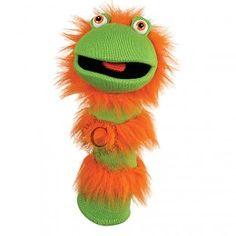 The Puppet Company handpop Sockette Ginger