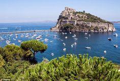 Castello Aragonese: Ischia Italy (volcanic island)