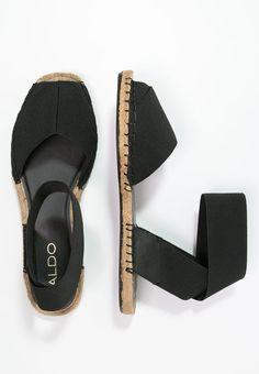 Diese Sandalen schmiegen sich optimal an deine Füße an. ALDO CARYNN - Schaftsandale - black für 54,90 € (26.05.16) versandkostenfrei bei Zalando bestellen.