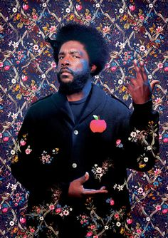 Questlove by Kehinde Wiley