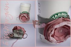 Coffee sleeve key chain