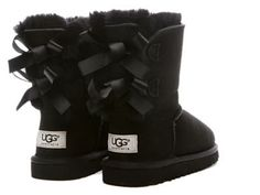 black and white uggs