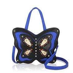 DARLING'S Butterfly Fashion Design Handbag Shoulder Bag