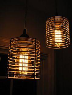 IKEA Hackers BLANKEN industrial pendant light - bathroom maybe? & 10 Amazing IKEA Desk Lamp and Task Light Hacks | Ikea desk Desk ... azcodes.com