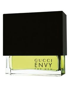 Envy for Men Gucci cologne - a fragrance for men 1998 - Its spicy, but fresh top notes include mandarine, coriander, pepper, rosewood, ginger and lavender. The heart is composed of floral bouquet made of rose and jasmine, spiced up with some carnation and warm woody nuances of sandalwood and cedarwood.