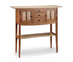 Foyer Sideboard: Tom Dumke: Wood Console Table   Artful Home