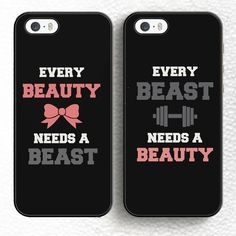 Cheap phone cases, Buy Quality case a directly from China case plus Suppliers: MaiYaCa Every Beauty Need A Beast Love Pair Soft Rubber Phone Cases OEM For iPhone 6 Plus 7 7 Plus 5 SE Cover Bags Shell Couples Phone Cases, Cute Phone Cases, Mobile Phone Cases, Iphone 7 Plus Cases, Iphone 6, Best Friend And Lover, A Beast, Mobile Covers, 7 And 7