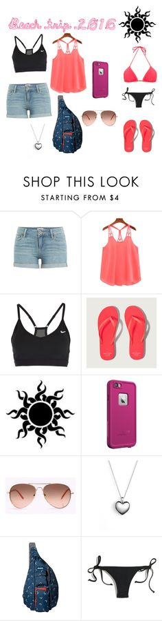 """""""Untitled #25"""" by shelby-bowlin ❤ liked on Polyvore featuring Paige Denim, NIKE, Abercrombie & Fitch, LifeProof, Pandora, Kavu, Madewell and Blue Man"""