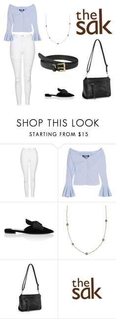 """Casual Everyday Look"" by the-sak on Polyvore featuring Topshop, Jacquemus, Prada, The Sak and Lauren Ralph Lauren"