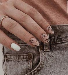 Best Acrylic Nails, Acrylic Nail Designs, Nail Art Designs, Cute Nails, Pretty Nails, Bride Nails, Dipped Nails, Neutral Nails, Minimalist Nails