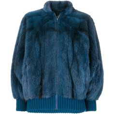 Christian Dior Vintage Mink fur bomber jacket (€11.885) ❤ liked on Polyvore featuring outerwear, jackets, mink bomber jacket, bomber jackets, christian dior, mink fur jacket and blue jackets