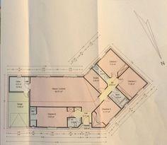 [Plan de maison][] Plans de maisons en L ou en V - Ambares Et Lagrave (Gironde - 33) - aout 2015