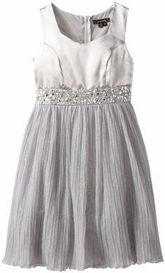 Amazon.com: My Michelle Girls 7-16 Handkerchief Hem Dress ...