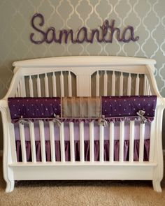 Cribs Bedding And Toddler Bed On Pinterest