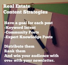 Real Estate Content Strategies To Win Leads from https://www.flyerco.com #realestate #realtor