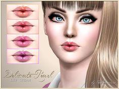 Delicate pearl lip cream