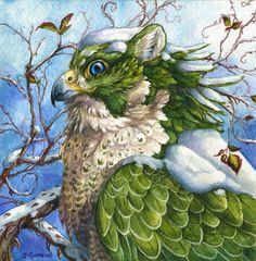 Snow Day par Brenda Lyons - Falcon Lune studio