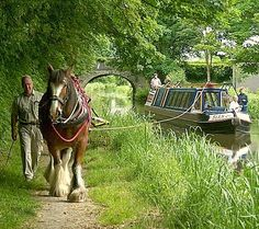 The Montgomery Canal is a partially restored canal in Powys, east Wales, and in north-west Shropshire, in western England. England And Scotland, England Uk, Canal Boats England, Canal Boat Art, Norfolk, Canal Barge, Boat Illustration, British Countryside, Narrowboat