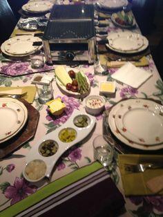 Los acompañantes de el raclette